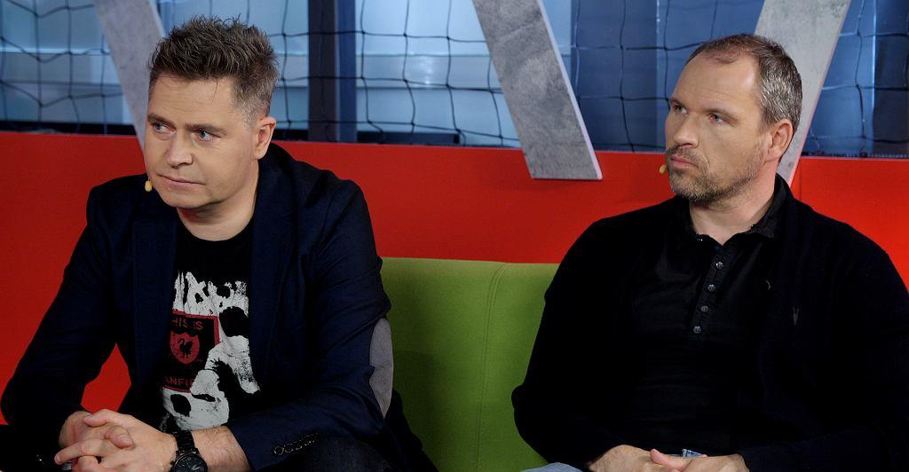 Marcin Feddek i Przemysław Pełka w Sekcji Piłkarskiej