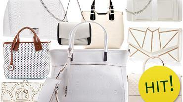 Trend alarm: biała torebka na wiosnę