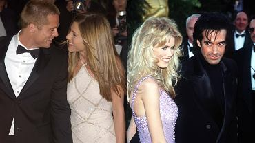 Jennifer Aniston i Brad Pitt oraz Claudia Schiffer i David Copperfield