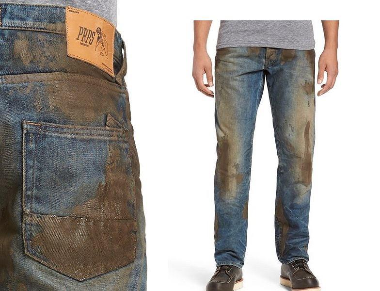 Amerykańska sieciówka oferuje spodnie, dzięki którym można wyglądać, jakby się było brudnym bez faktycznego brudzenia się