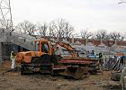 Modernizacja Stadionu Olimpijskiego. Już się mury pną do góry [ZDJĘCIA]