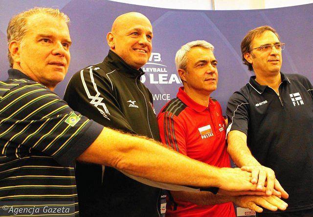 Konferencja przed Ligą Światową w Katowicach