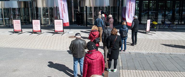 Szwecja z największą liczbą zakażeń COVID-19 na milion mieszkańców