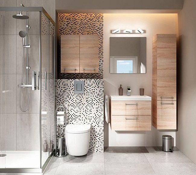 Lustro łazienkowe z oświetleniem