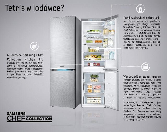 Lodówka Samsung Chef Collection Kitchen Fit