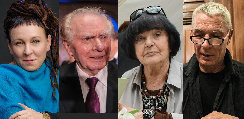 Olga Tokarczuk, Wiesław Myśliwski, Hanna Krall, Andrzej Stasiuk