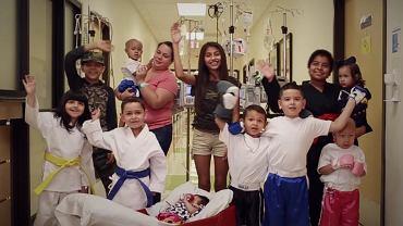 Dzieci ze szpitala w Teksasie