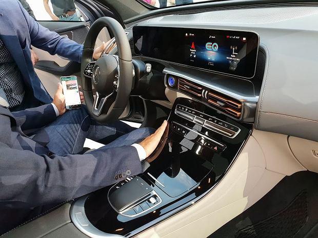Mercedes-Benz EQC - wnętrze