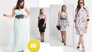 Sukienki koktajlowe w rozmiarze plus size