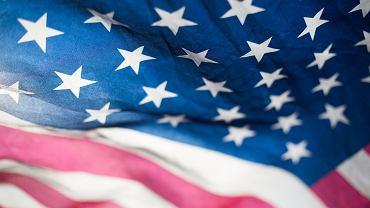 Flaga USA (zdjęcie ilustracyjne)