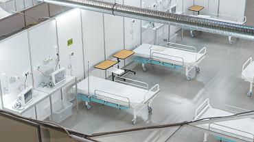 Rzecznik MZ: w maju powoli będą wygaszane kolejne szpitale tymczasowe