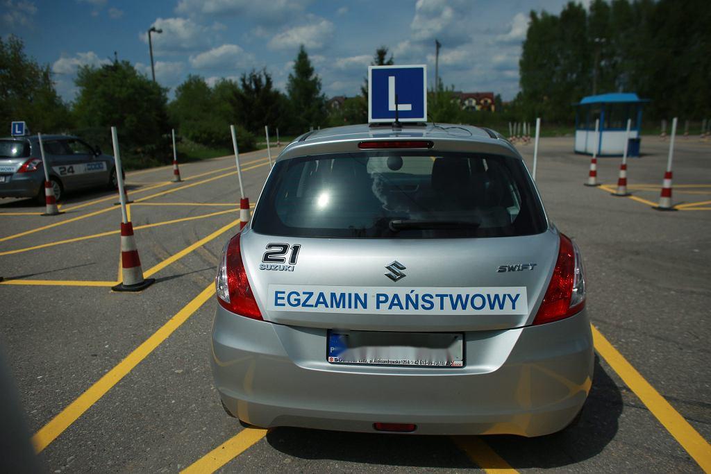 Samochód egzaminacyjny (zdjęcie ilustracyjne)