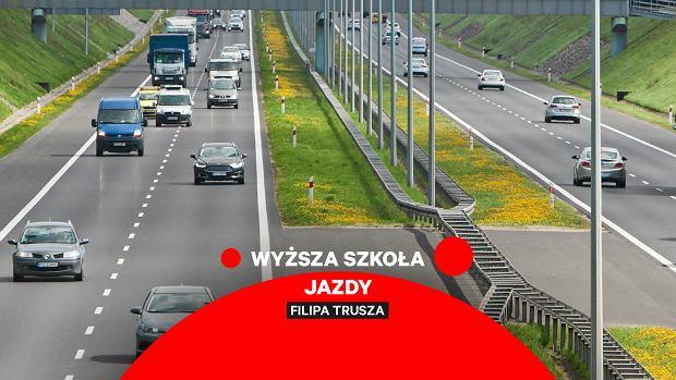 Instrukcja obsługi autostrady. Wolno wcale nie oznacza tu bezpiecznie