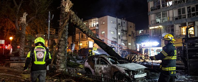 Atak rakietowy w Izraelu. Polka: Godzinę spędziliśmy na korytarzu
