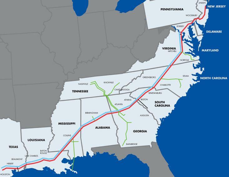 Rurociąg Colonial Pipeline