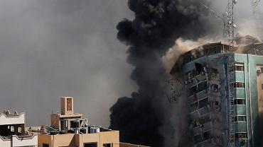 Izraelskie samoloty zbombardowały w Strefie Gazy budynek, w którym biura miało kilkanaście redakcji, między innymi agencja Associated Press