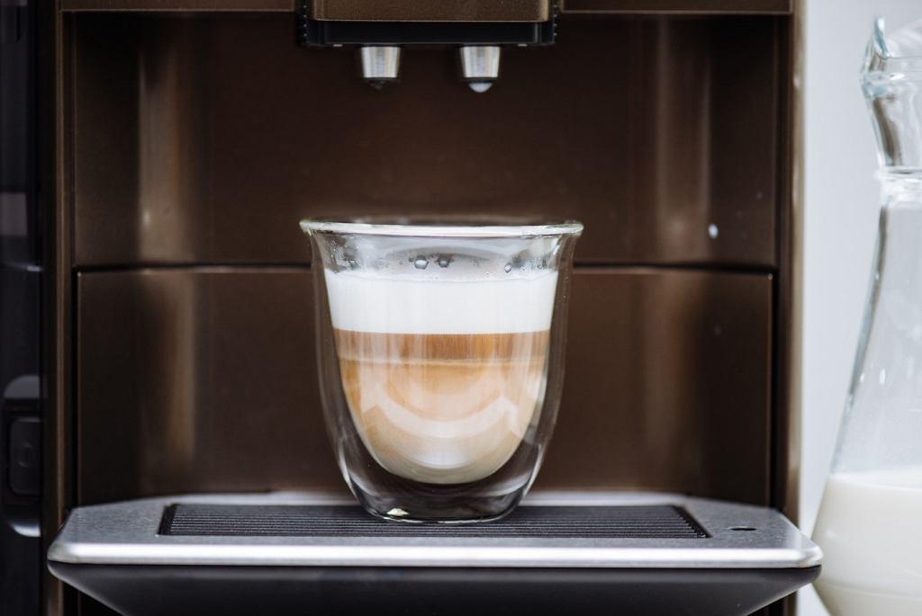 Cappuccino z ekspresu Siemens