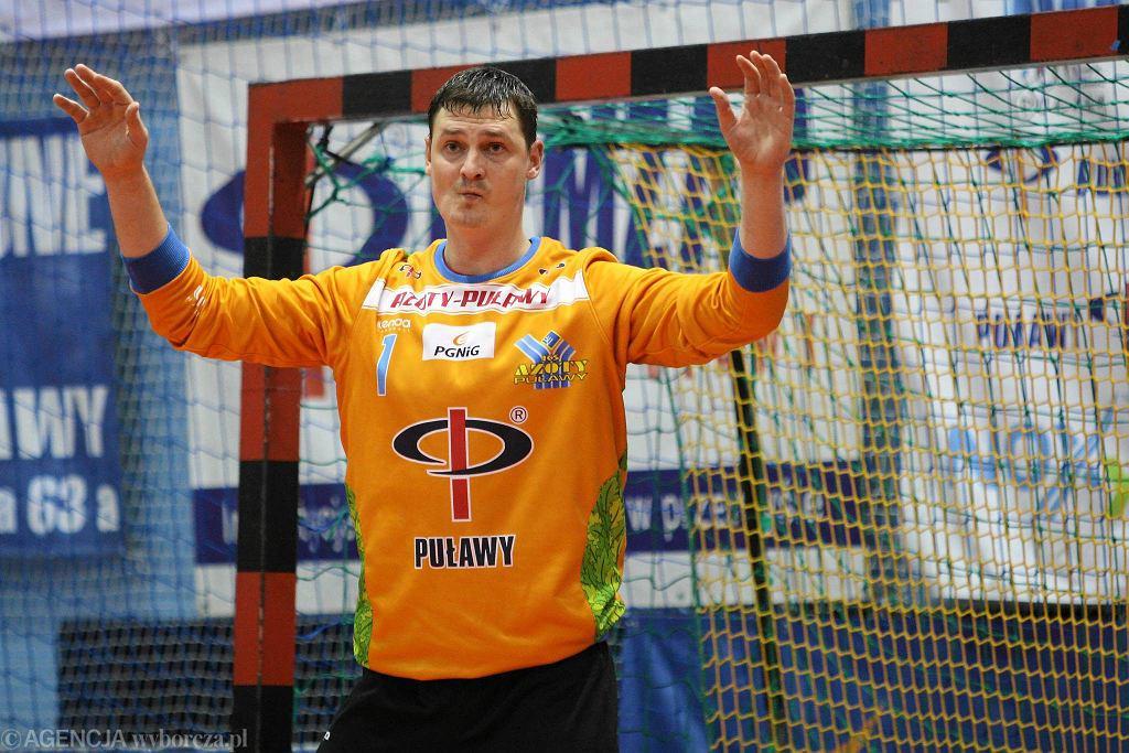Bramkarz Azotów Wadim Bogdanov