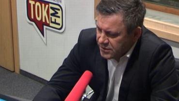 Janusz Piechociński w studiu Radia TOK FM