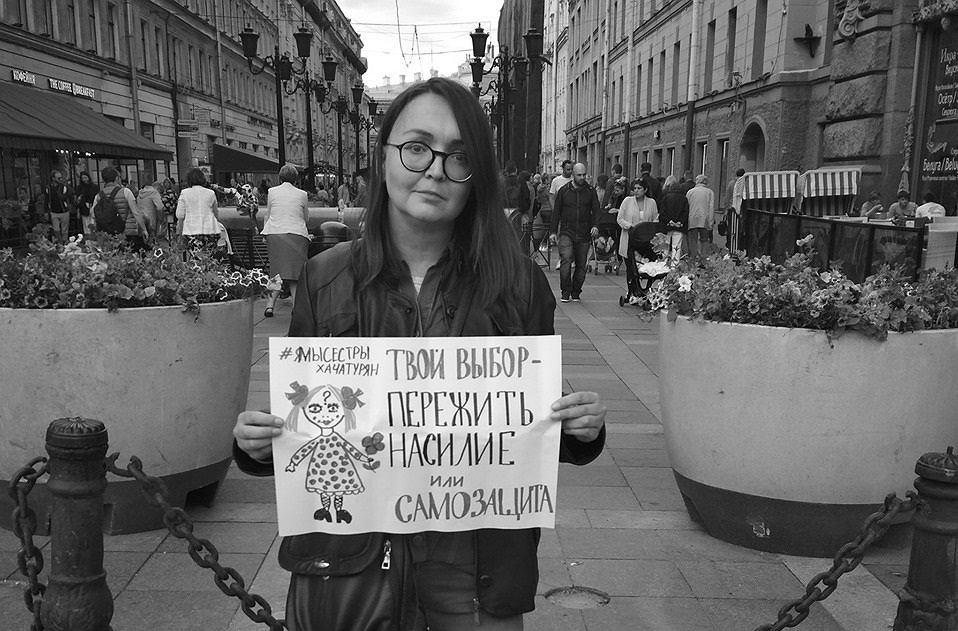 Jelena Grigoriiwa does not live  The body of a Russian activist has