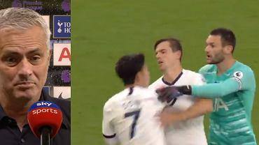 Spięcie między zawodnikami Tottenhamu. Jose Mourinho komentuje