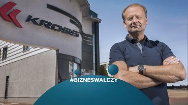 Zbigniew Sosnowski to założyciel i prezes Krossa