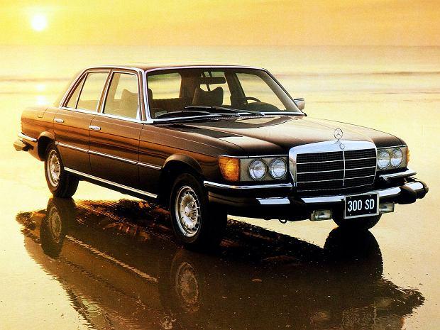 Mercedes 300 SD rozpędzał się maksymalnie do 170 km/h