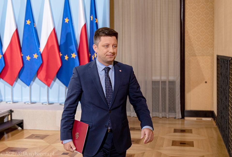Szef Kancelarii Prezesa Rady Ministrów Michał Dworczyk