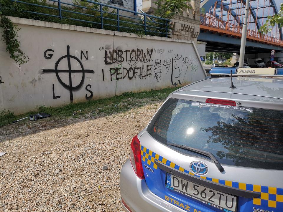 Mowa nienawiści znika z wrocławskich murów