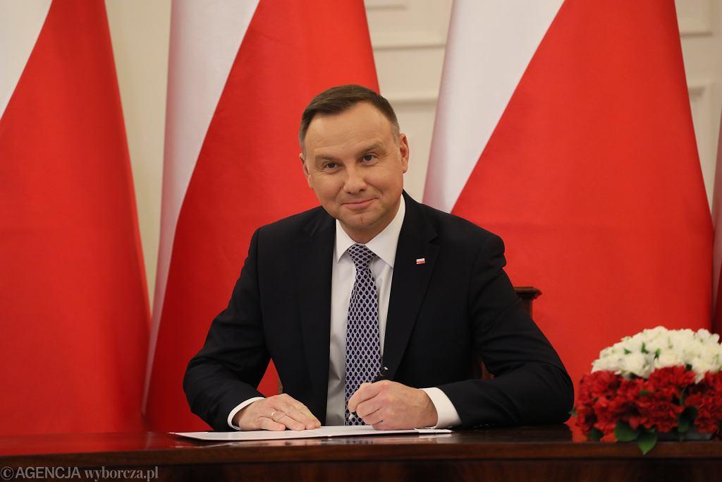 Andrzej Duda podpisał ustawę wprowadzające Polski Bon Turystyczny