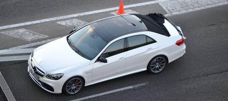 Mercedes klasy E po liftingu