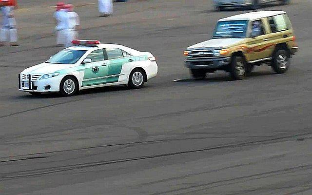 Niezbyt udana interwencja saudyjskiej policji