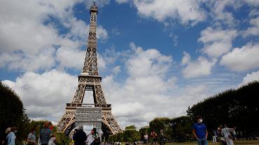 Paryż, okolice wieży Eiffla