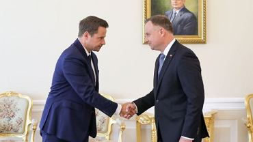Spotkanie Andrzeja Dudy z Rafałem Trzaskowskim