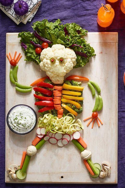 Warzywa z dipem wcale nie muszą być nudną przekąską