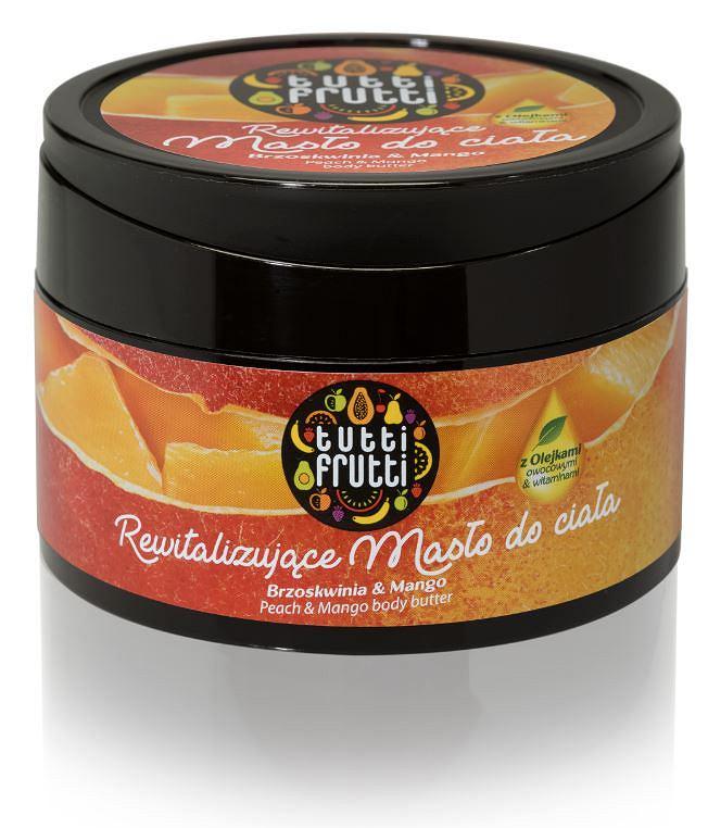 masło brzoskiwnia&mango