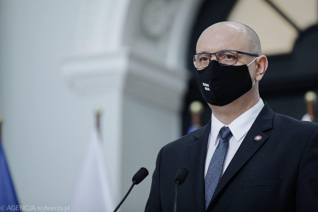 Krzysztof Saczka, p.o. Głównego Inspektora Sanitarnego