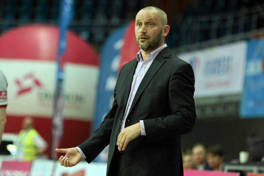 Trener GTK Gliwice Paweł Turkiewicz
