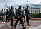 Ponad 20 dziennikarzy i 180 protestujących zatrzymanych w Mińsku