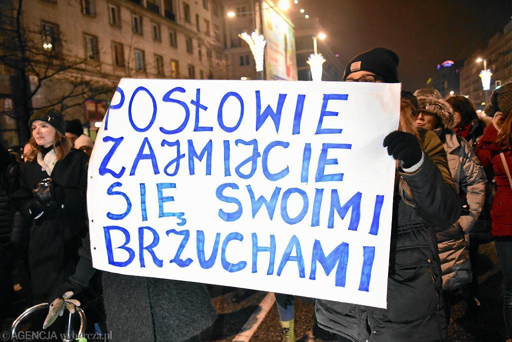 Czarny Protest 17 stycznia 2018 r.