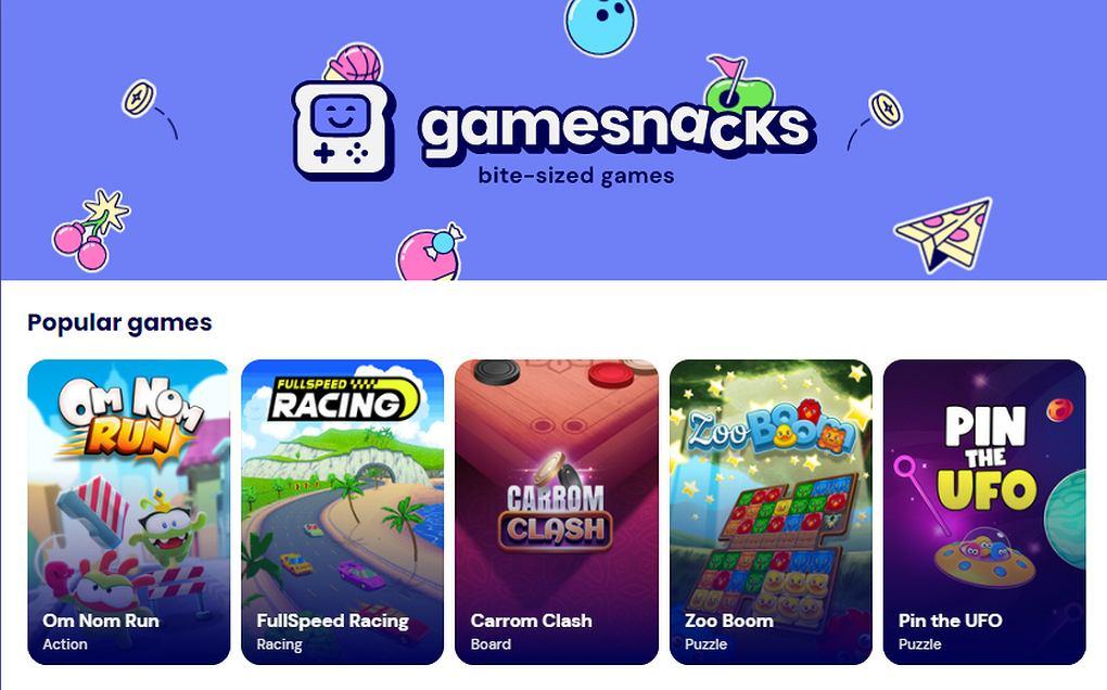 Platforma GameSnacks
