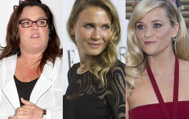 Rosie O'Donnell, Renee Zellweger i Reese Witherspoon