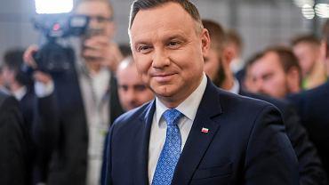 Andrzej Duda, prezydent RP spotkał się z mieszkańcami Niska
