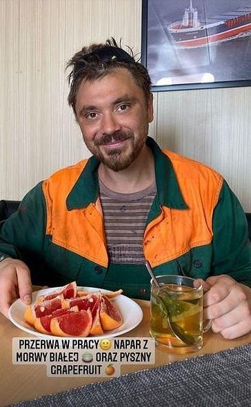 Daniel Martyniuk i jego przerwa w pracy na statku.