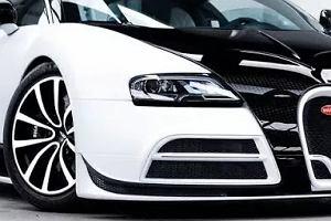 Bugatti Veyron jak Panda. I  kosztuje majątek