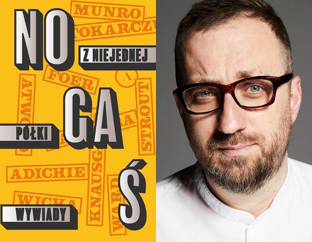 Michał Nogaś, autor książki 'Z niejednej półki. Wywiady' (fot. Albert Zawada /Agencja Gazeta)