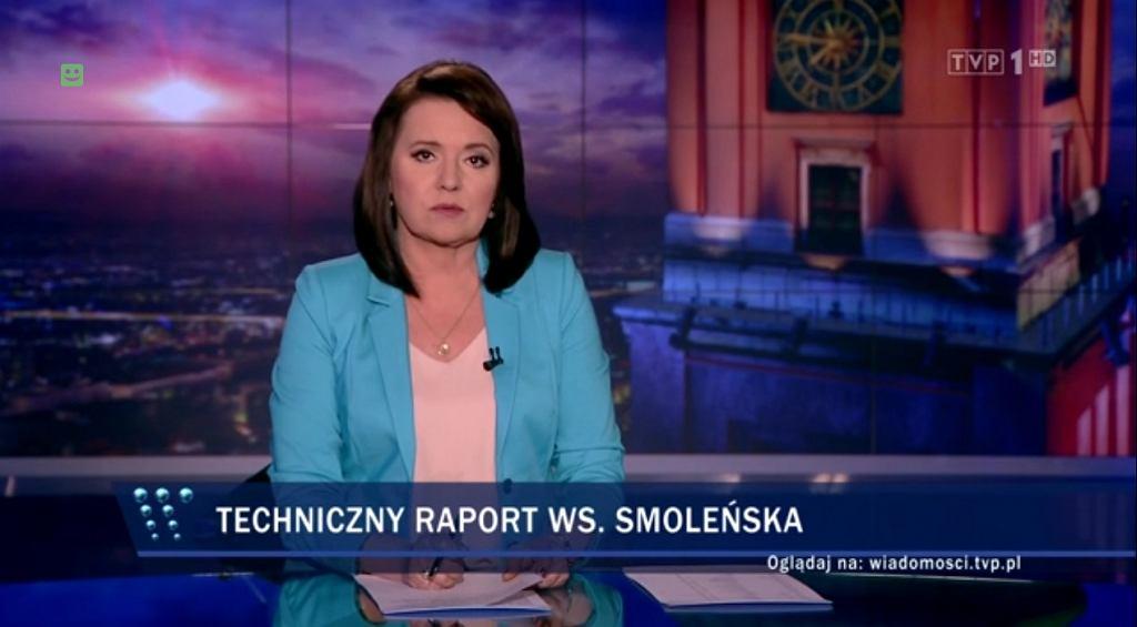 Danuta Holecka, Wiadomości TVP