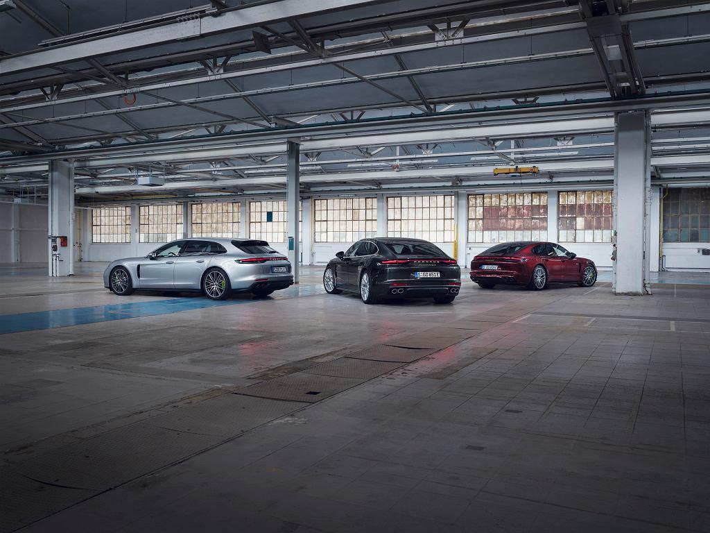 Porsche Panamera - gama modeli