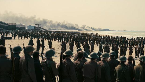 Kadr ze zwiastuna filmu 'Dunkierka'