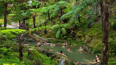 Caldeira Velha - gorące źródła na Azorach